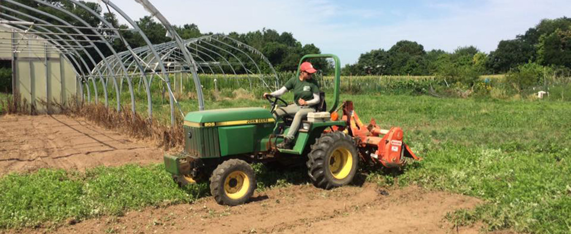 Rutgers Student Sustainable Farm.